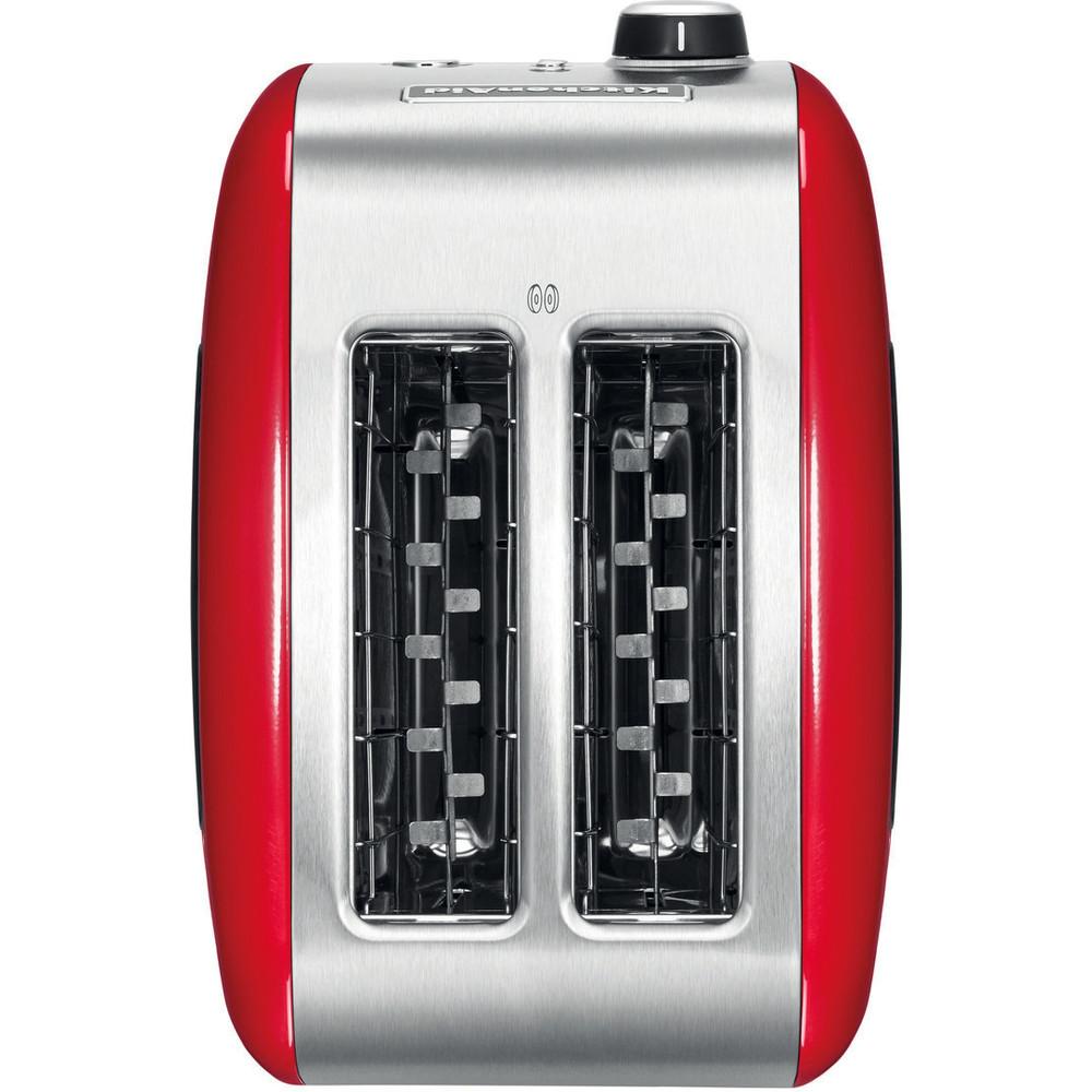 2-komorowy czerwony toster