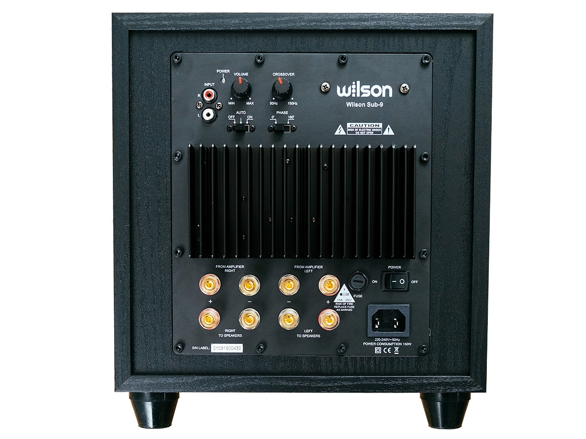 tył subwoofera Wilson Sub-9