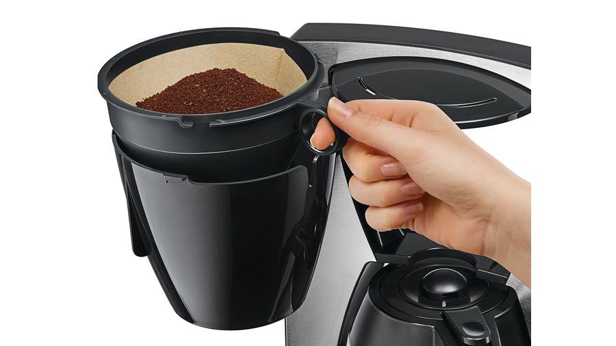 pojemnik na kawę mieloną w ekspresie przelewowym