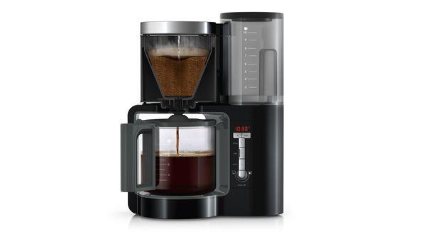 parzenie kawy w ekspresie przelewowym Siemens