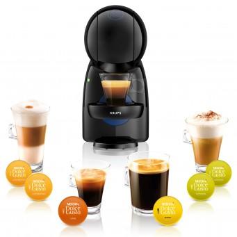 różne kawy z ekspresu kapsulkowego
