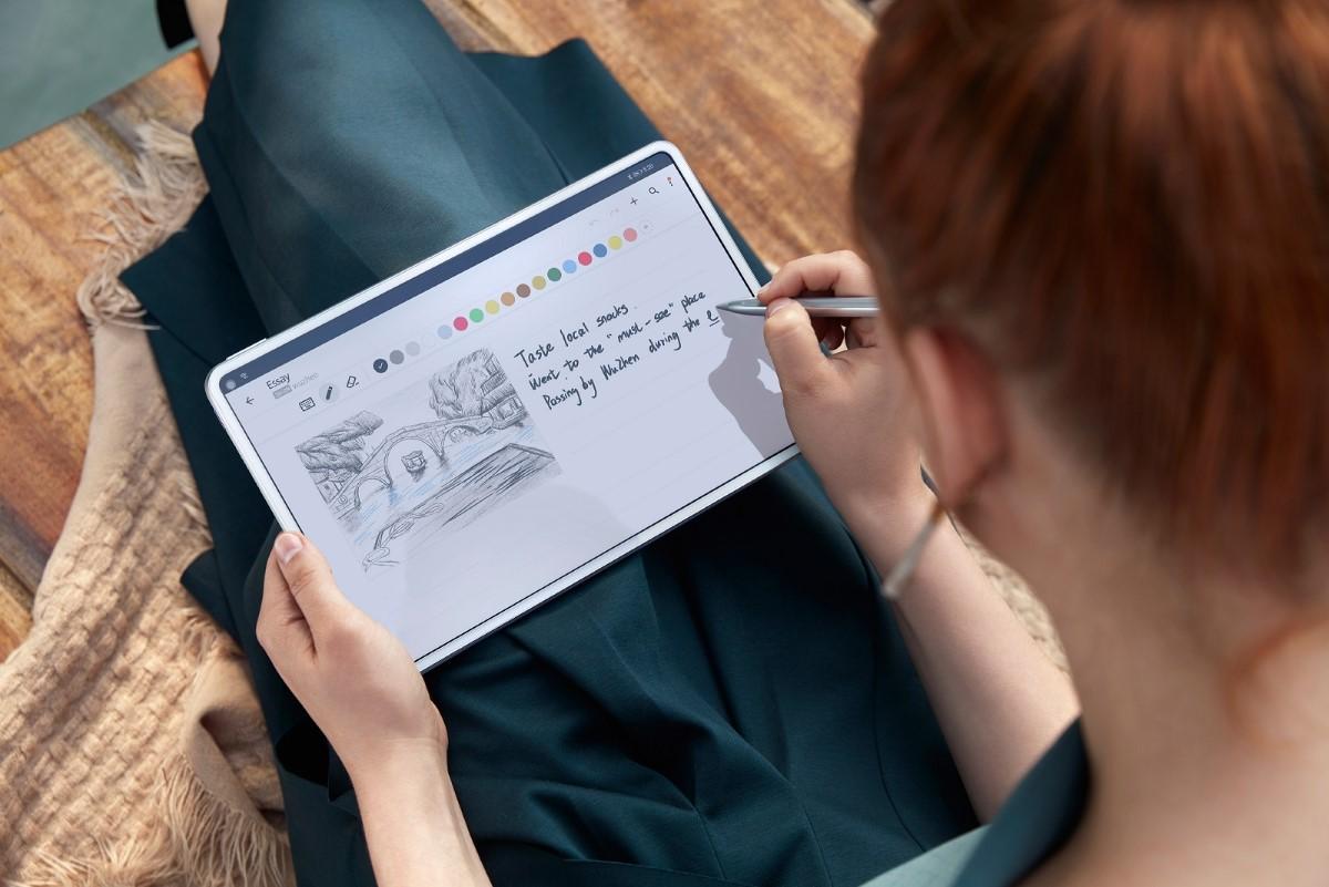 Rysowanie z pomocą Huawei Matepad Pro