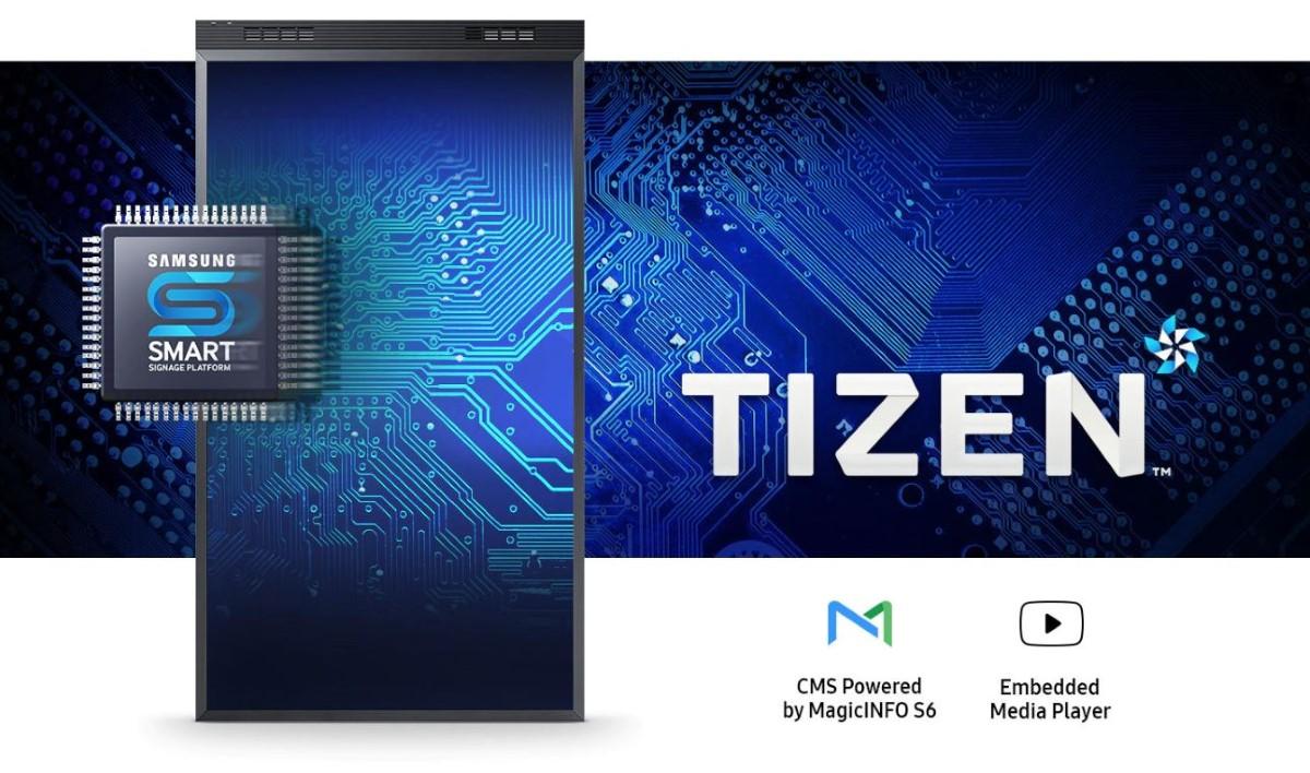 System Tizen w monitorach Samsunga