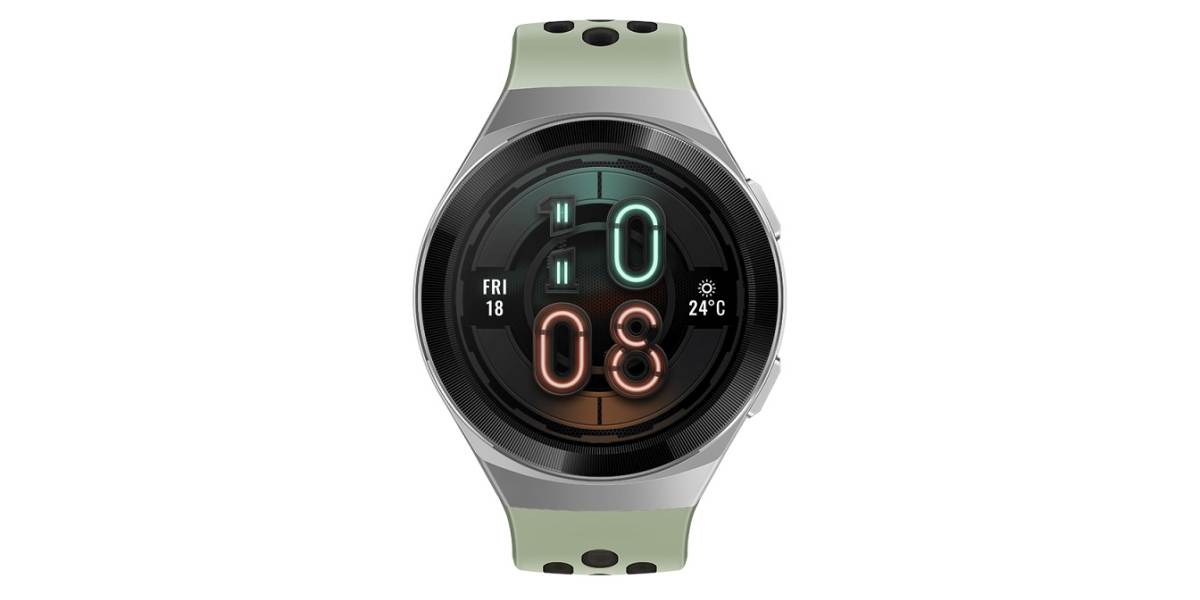 Huawei Watch GT 2e do tekstu zielony
