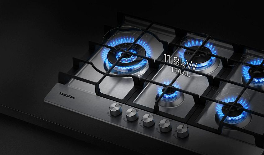 płyta gazowa firmy Samsung