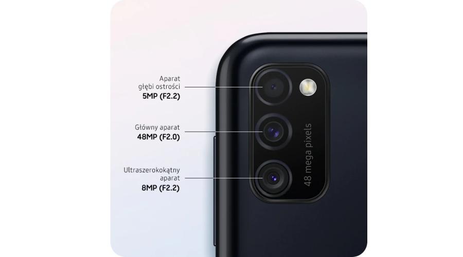 Aparaty Samsung Galaxy M21