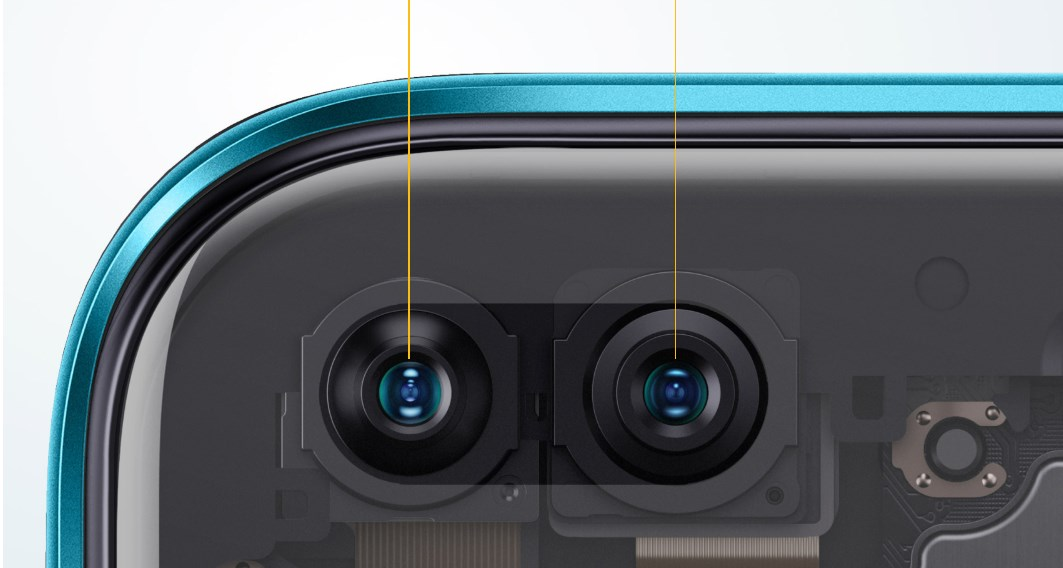 Realme oferuje dwa aparaty z przodu