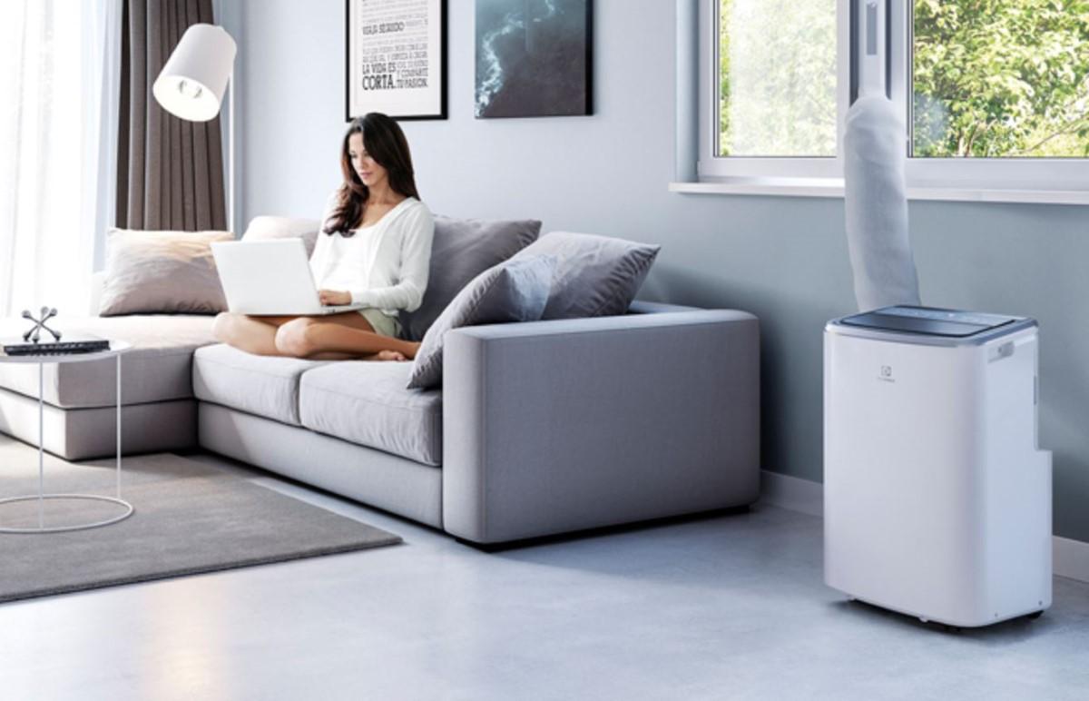 Electrolux EXP26U338HW w salonie