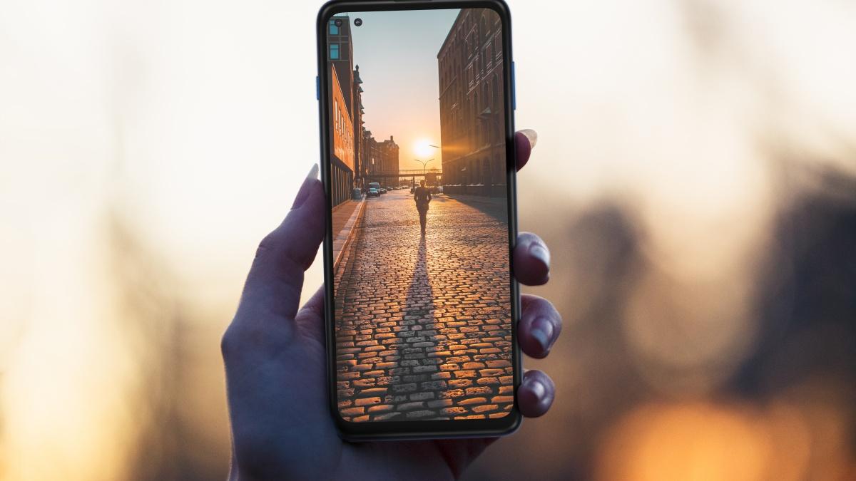 Moto G 5G Plus ekran