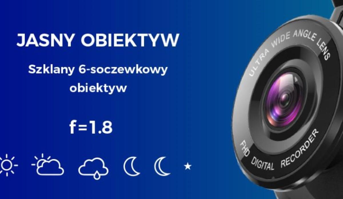 Obiektyw kamery Mikavi PQ4 DUAL