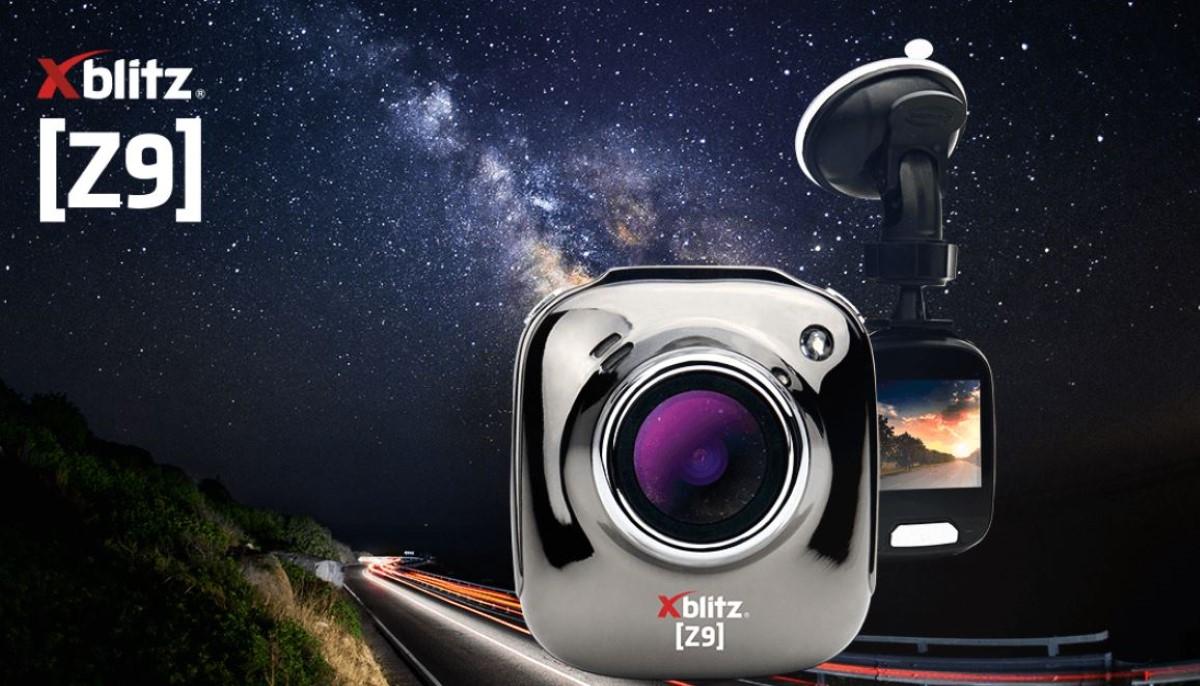 Grafika promocyjna w kamerze Xblitz Z9