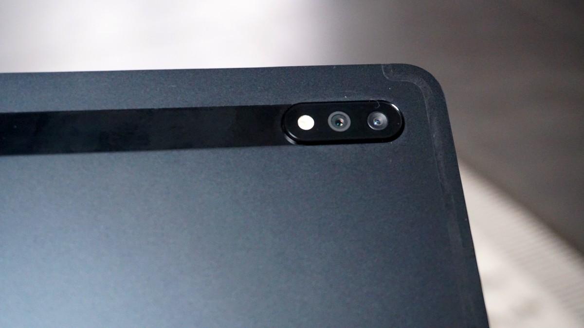 Tab S7 wygląd aparatu