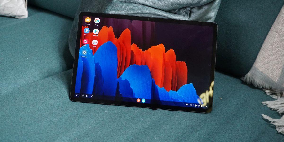 Ekran 120 Hz Samsung Galaxy Tab S7+