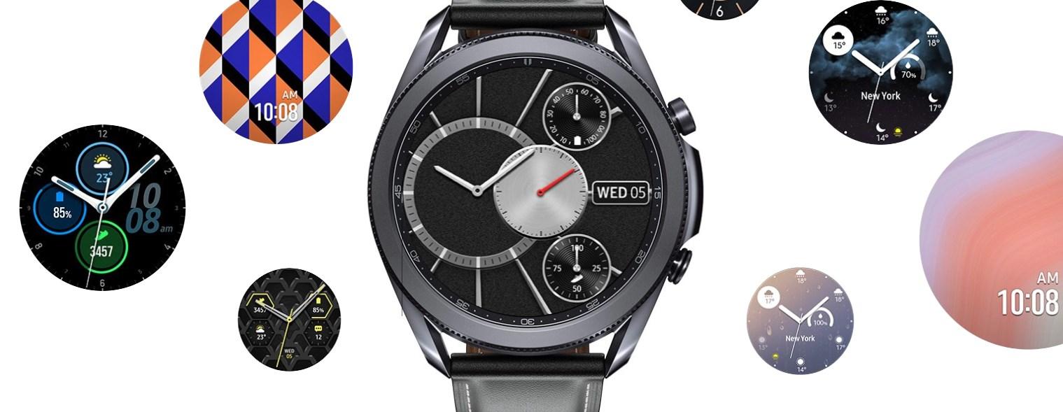 Galaxy Watch3 tarcze