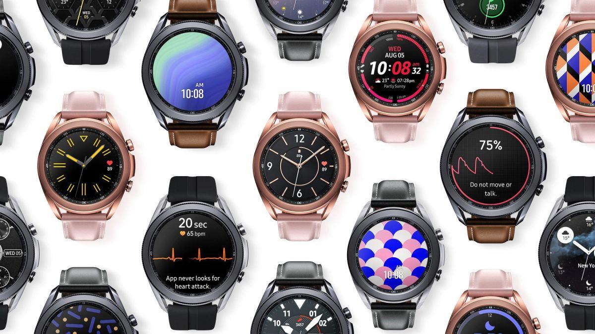 Samsung Galaxy Watch3 opcje