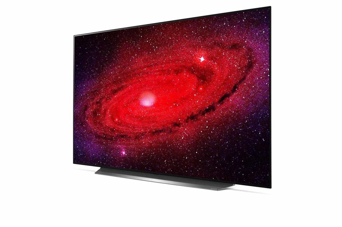 duży telewizor OLED firmy LG