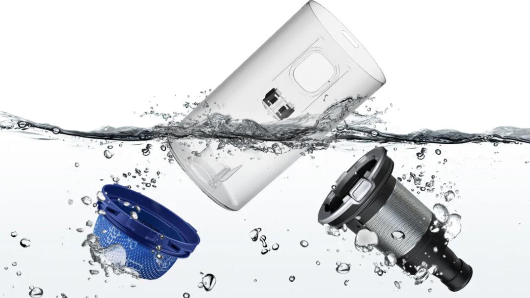 Samsung VS20R9046S3 czyszczenie wodą