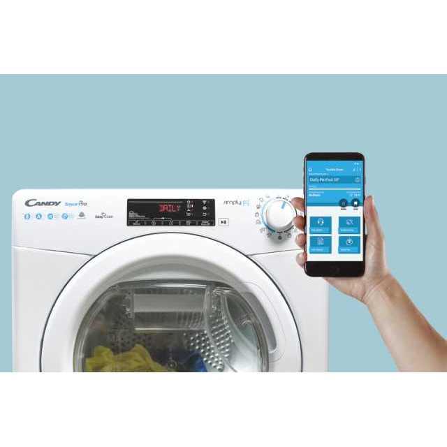 aplikacja mobilna od suszarki do prania Candy