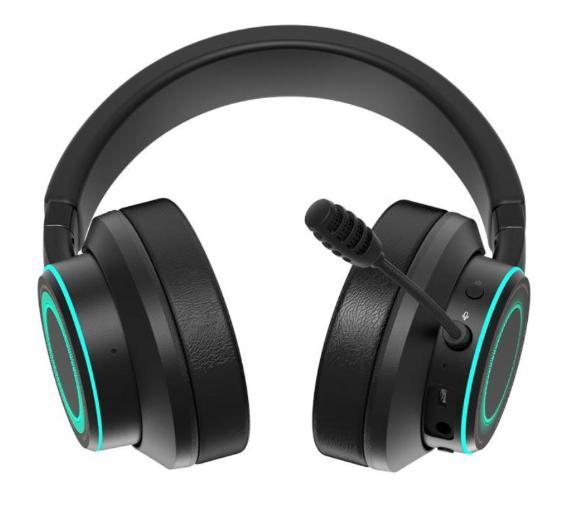 słuchawki nauszne z mikrofonem Creative