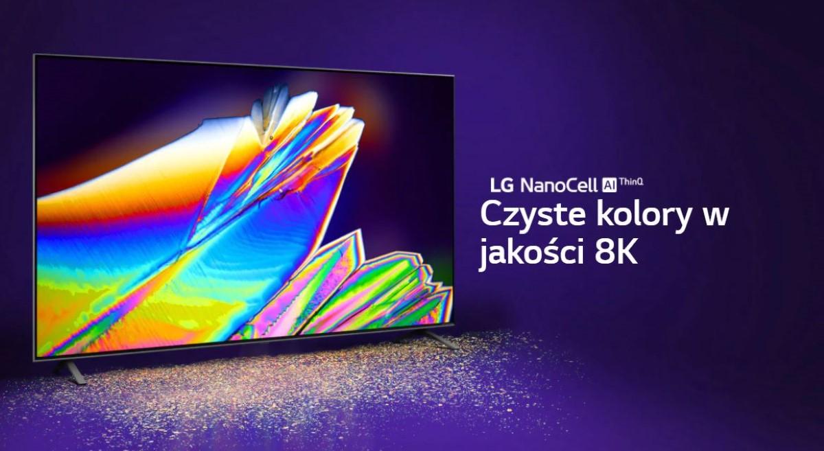 Kolory w LG 65NANO99