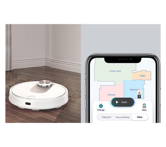 aplikacja mobilna robota sprzątającego