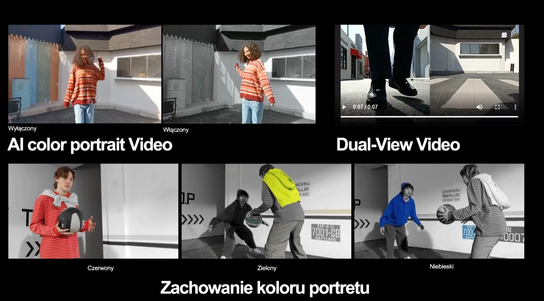 OPPO Reno5 Lite funkcje foto i video