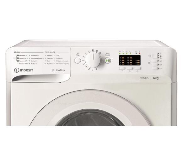 panel sterowania pralki Indesit