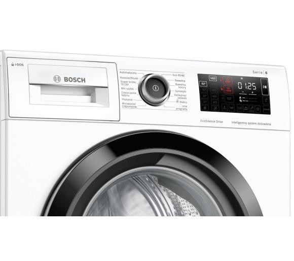 panel sterowania pralki Bosch