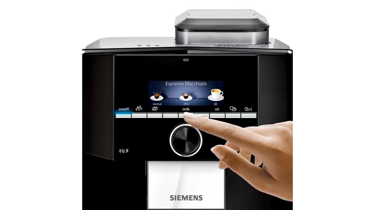 obsługa ekspresu Siemens
