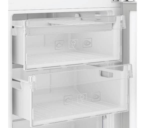 szuflady w lodówce BEKO