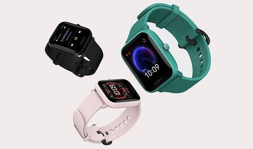 smartwatch Amazfit w różnych kolorach