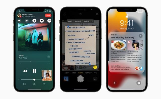 Nowości w iOS 15