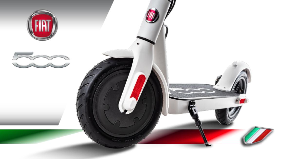 Grafika producenta pokazująca Fiata F500