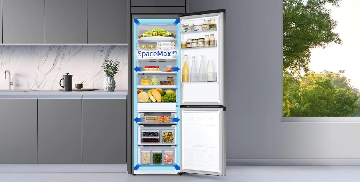 Spacemax w lodówce Samsung