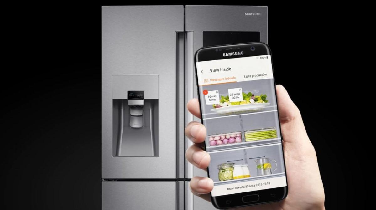 Sterowanie Samsung RF56M9540SR