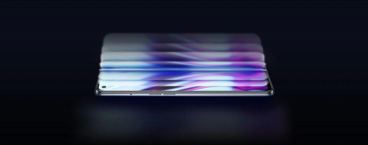 realme GT ekran sAMOLED
