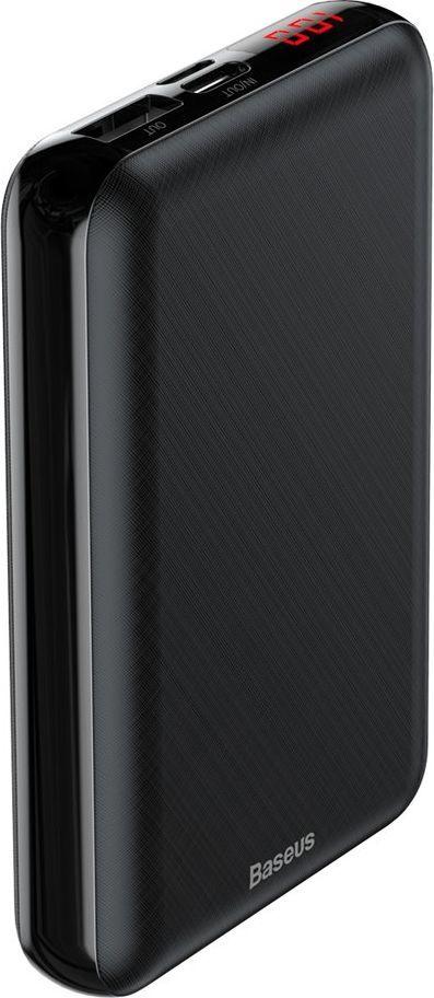 mały powerbank Baseus PPALL-XF01 Mini S Digital Display 10000 mAh Czarny