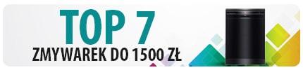 TOP 7 Zmywarek do 1500 zł