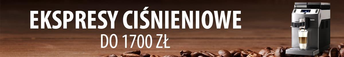 TOP 15 Ekspresów ciśnieniowych do 1700 zł