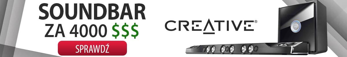 Creative X-Fi Sonic Carrier – Soundbar za 4000 dolarów amerykańskich