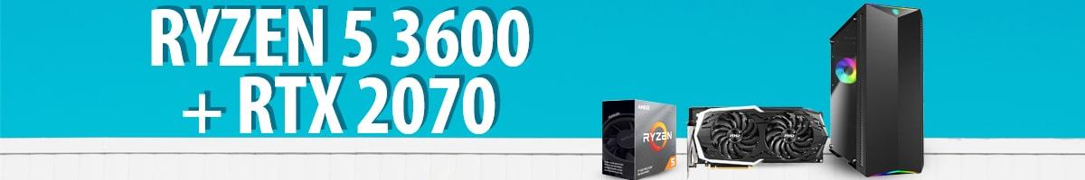 Ryzen 5 3600 + RTX 2070 - Test komputera od Chillblast