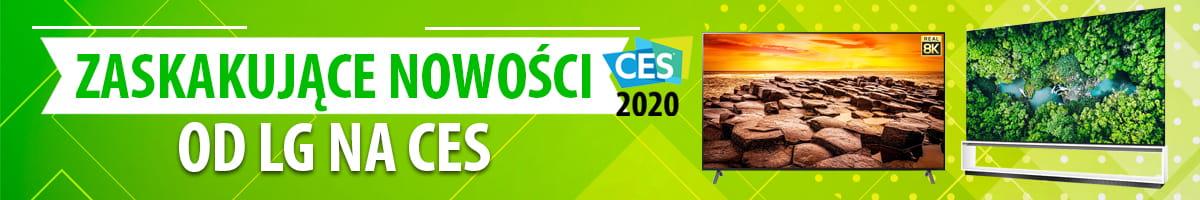 Nowości audio/wideo od LG na CES 2020