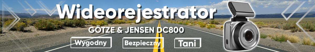 Zobacz ofertę na wideorejestrator Götze & Jensen DC800