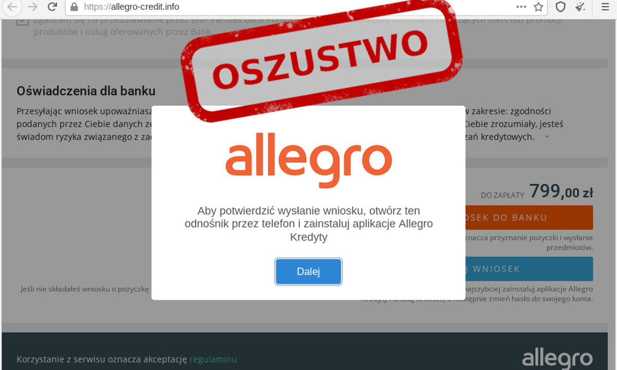 Oszusci Podszywajacy Sie Pod Allegro Ponownie Atakuja Videotesty Pl