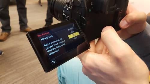 Prezentacja Aparatu Panasonic Lumix GH5 18