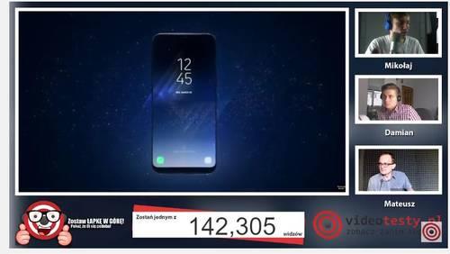 Premiera Samsunga Galaxy S8 - Live Videotesty 1