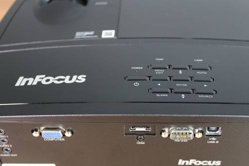 Test projektora Infocus SP1080 9