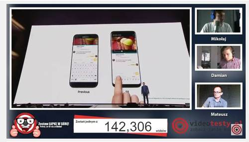 Premiera Samsunga Galaxy S8 - Live Videotesty 5