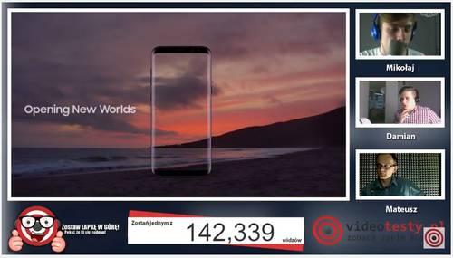 Premiera Samsunga Galaxy S8 - Live Videotesty 9