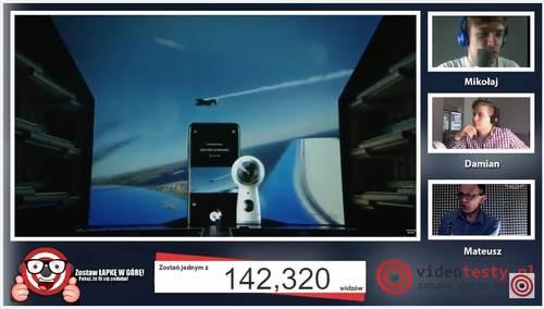 Premiera Samsunga Galaxy S8 - Live Videotesty 11
